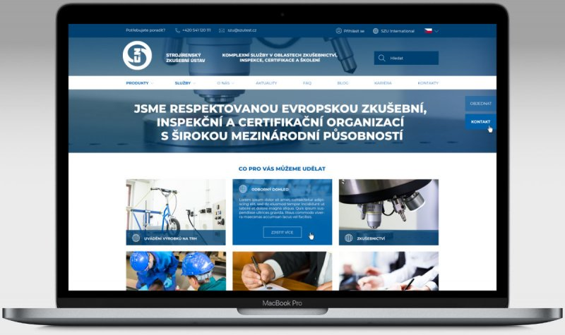 We are launching a new SZU's website