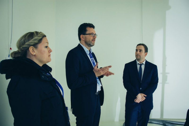 DIN CERTCO representatives visiting SZU Headquarters